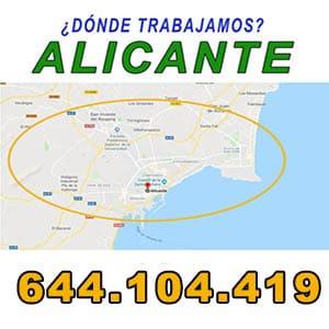 Antenistas Elche Alicante  ECONOMICOS calle leandro soler roman